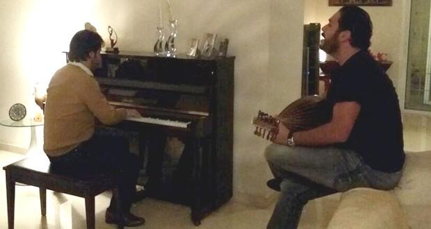 بالصورة: رامي عياش يحضّر أغنية جديدة مع جان ماري رياشي