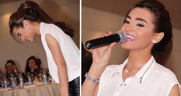 بالصور: كارمن سليمان أحيت حفل خيري في القاهرة وقدّمت أغنيات ألبومها الجديد