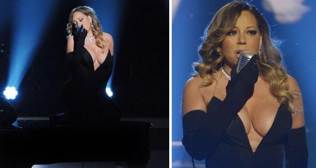 بالصور: Mariah Carey تُظهر مفاتنها في آخر حفلاتها