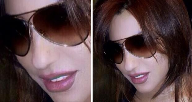 بالصورة: نجوى كرم تهدي نظارات الشمس الخاصّة بها لأحد محبّيها