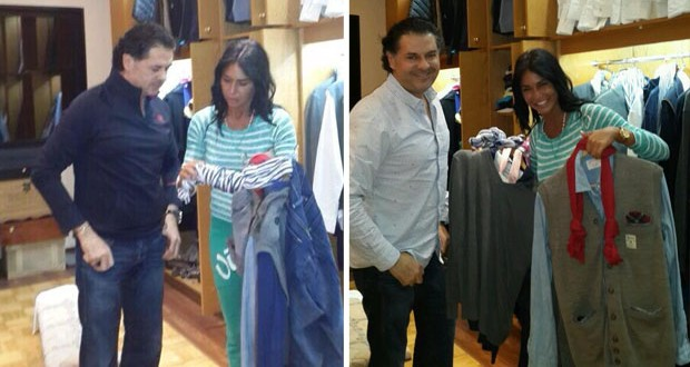 بالصور: راغب علامة يردّ على الحاقدين ومع الـStylist تاتيانا معوّض لتنسيق الملابس