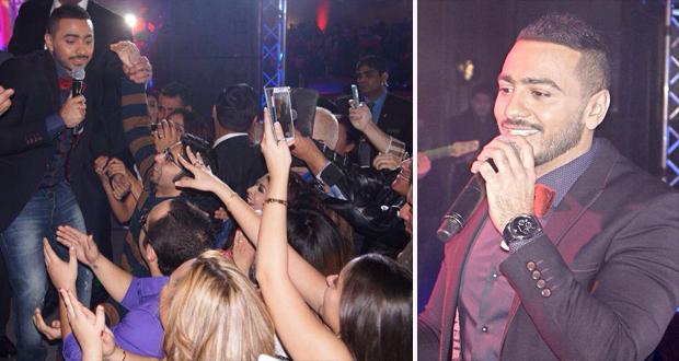 تامر حسني أشعل الحبّ وإعصار جماهيري معه في أنجح حفلات الولايات المتحدة الأمريكية