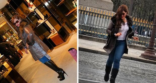 بالصور: أحلام تتألّق في شوارع باريس وتخطف الأنظار