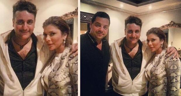بالصورة: أصالة نصري مع زوجها ومحمد رحيم في الإستوديو