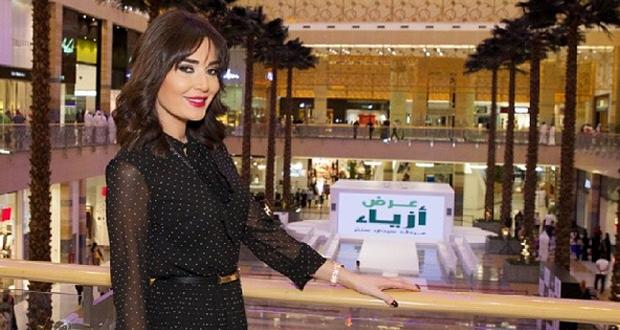 بالصور: سيرين عبد النور خطفت الأنظار وتسببت بمظاهرة جماهيرية في دبي