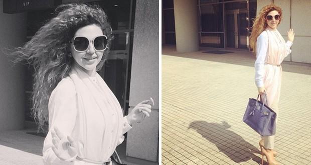 بالصور: ميريام فارس في مطار بيروت وتستعد للقاء جمهورها في إربيل