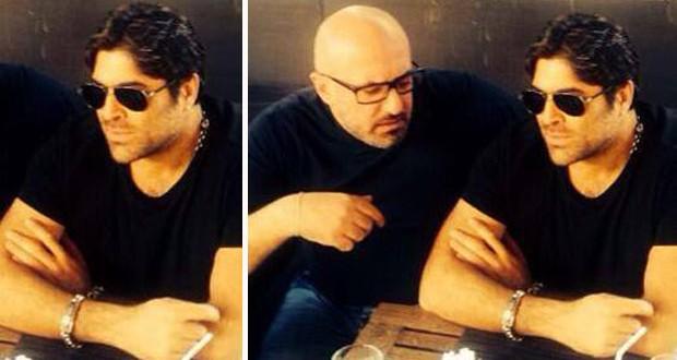 بالصورة: وائل كفوري مع  طارق أبو جودة وتحضيرات الديو مع يارا جارية