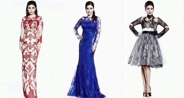 بالصور: يارا تتألّق بأزياء الكويتي محمد حماده