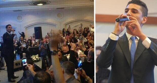 بالصور: محمد عساف أشعل الناصرة وجمهور العائلات في حفلة 442