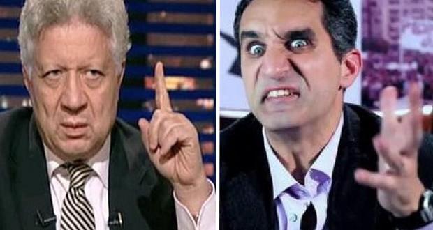 مرتضى منصور يدّعي إيقاف برنامج باسم يوسف والحرب مستمرّة