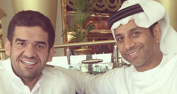 بالصورة: ماذا يحضّر حسين الجسمي مع فايز السعيد؟
