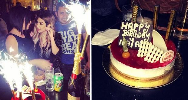 بالصور: نايا إحتفلت بعيد ميلادها بين الأهل والأصدقاء