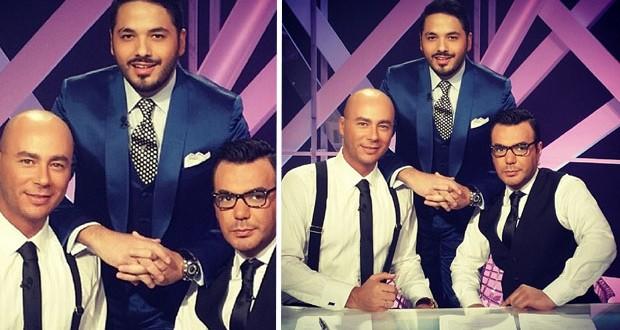 """بالصورة: رامي عياش صوّر حلقة مميّزة وشيّقة من """"المتهم"""""""