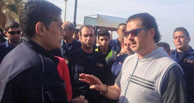 بالصورة: راغب علامة إلتقى بشباب الدفاع المدنيّ وقدّم لهم دعمه الكامل