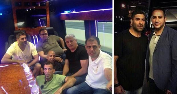 بالصور: وائل كفوري إستمتع بوقته مع الأصدقاء في هيوستن ويستمر بجولته الناجحة