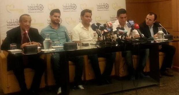 بالصور: محمد عساف، ناصيف زيتون ومراد بوريقي في المغرب ومؤتمر صحفي خاص قبل مهرجان موازين