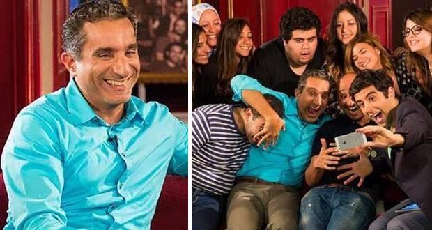 """بالصور والفيديو: باسم يوسف يوضّح سبب تأجيل عرض """"البرنامج"""" وهذا ما قاله في السياسة"""