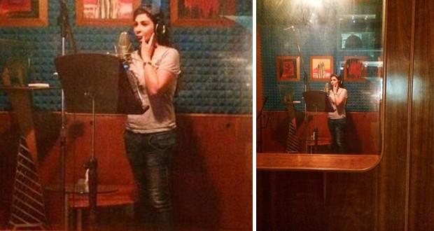 """بالصورة: إليسا تواصل العمل على ألبومها وهذا موعد حلقة """"هيدا حكي"""""""