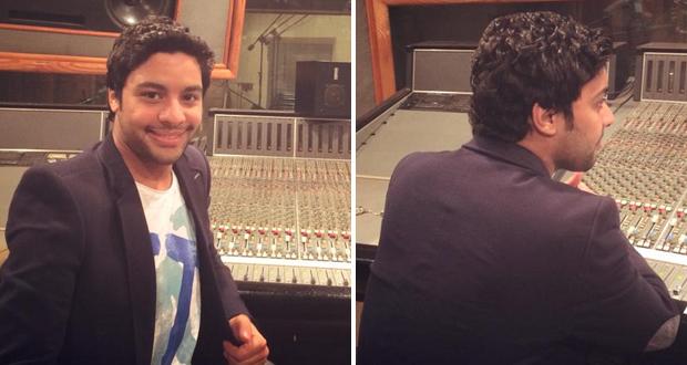 أولاً بالصور: أحمد جمال يحضّر لأغنية جديدة في الإستوديو وعشاقه يشنون حملات تصويت واسعة للموريكس دور