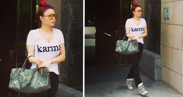 هيفاء وهبي بأكثر الصور طبيعية على الإطلاق وسرقت الأنظار بـ Karma