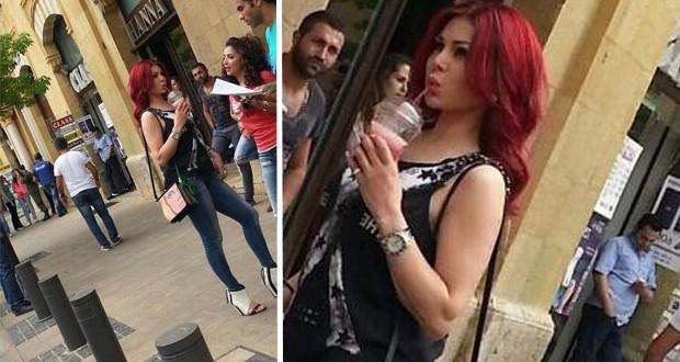بالصورة: هيفاء وهبي تخطف الأنظار في شوارع العاصمة اللبنانية بيروت