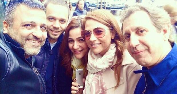 بالصور: جوليا بطرس تواصل العمل على ألبومها في Prague