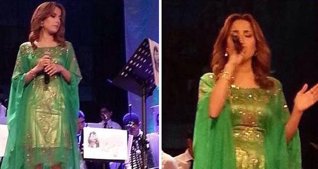 بالصور: ليليا بن شيخة تألّقت في حفل عاصمة الجنوب