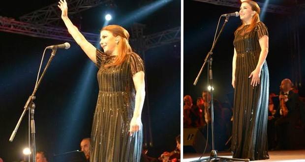 بالصور: السيدة ماجدة الرومي أضاءت سماء القاهرة في واحدة من أرقى الحفلات على الإطلاق