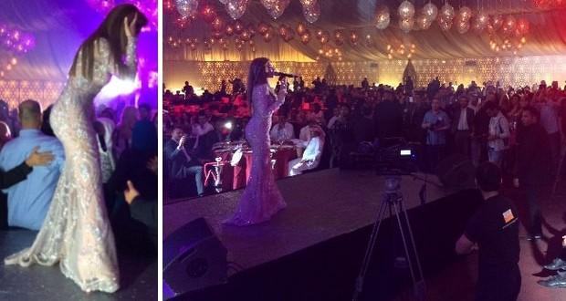 بالصور: ميريام فارس أحيت أضخم الأعراس في دبي وخطفت الأنفاس بأناقتها وبمجوهرات من تصميم والدها
