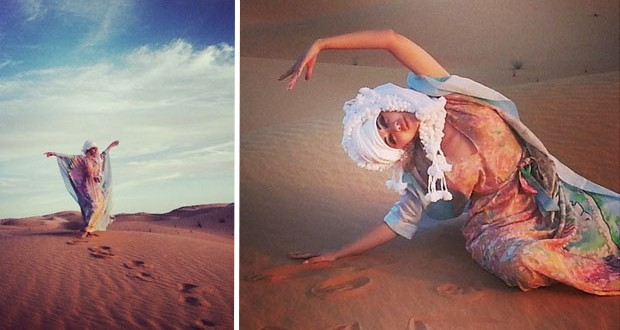 بالصور: ميريام فارس سندبادة الشرق تتألّق وسط الصحراء