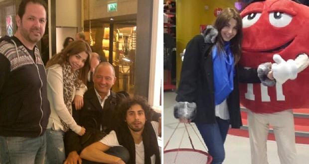 بالصور: نانسي عجرم تمضي أوقات رائعة مع زوجها وأصدقائها في لندن