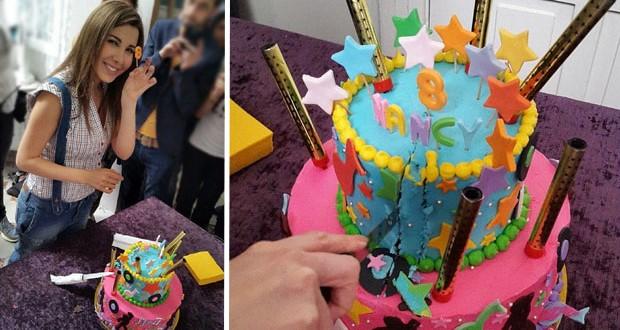 """بالصور: نانسي عجرم ومفاجأة جديدة بمناسبة عيد ميلادها من آنجي الجمال وفريق عمل """"يلا"""""""
