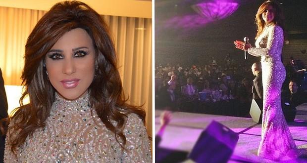 بالصور: نجوى كرم إختتمت جولتها في لوس أنجلس بنجاح ورفعت العلم اللبنانيّ عالياً