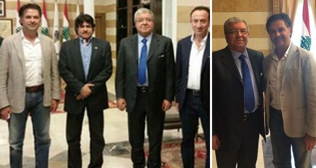 بالصور: راغب علامة إجتمع بوزير الداخلية نهاد المشنوق وهذا ما دار بينهما