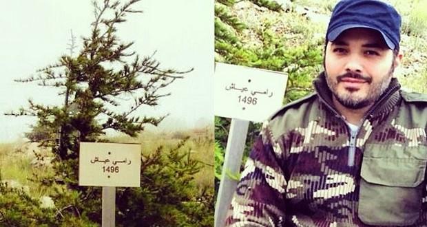 بالصورة: رامي عياش أمضى يوماً مميّزاً في جبل الباروك وتفقّد أرزته
