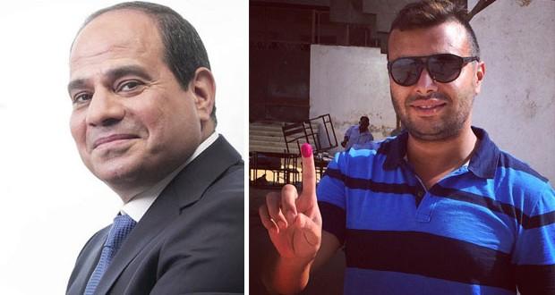 بالصورة: الشتائم تنهال على رامي صبري والسبب… السيسي