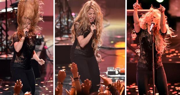 """بالفيديو: Shakira تحبس النفاس بإستعراض """"Empire"""" في IHeartRadio"""