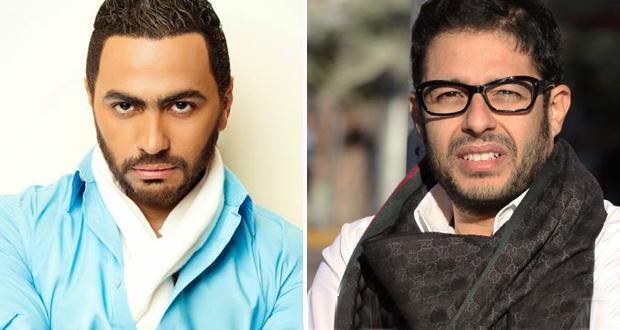 خاص: تامر حسني قدّم التعازي لـ حماقي والزيارة إقتصرت عليه وعلى عمرو دياب ومحمد فؤاد