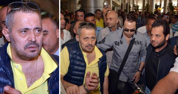 بالصور: سلطان الطرب جورج وسوف يحدث إنقلاب جماهيري في مطار القاهرة