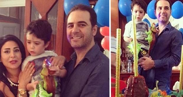 بالصور: وائل جسار يحتفل بعيد ميلاد إبنه وسط أجواء عائلية مميّزة