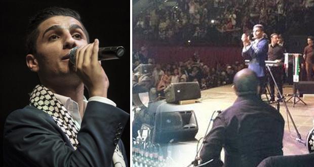 بالصور والفيديو: محمد عساف أشعل برلين في أجمل الحفلات وأطرب معجبيه من العرب والألمان
