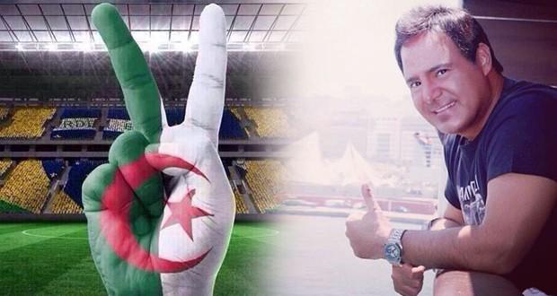 عاصي الحلاني يواسي المنتخب الجزائري وهذا ما قاله للفريق