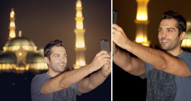 محمد باش نشر صورة رائعة أمام أحد الجوامع في ماليزيا وهذا ما قاله في رمضان