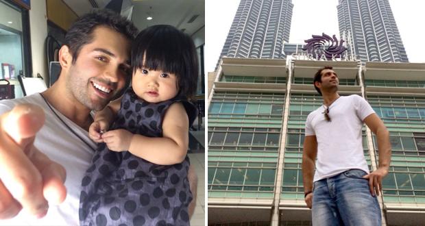خاص وحصري بتجرد: محمد باش في ماليزيا لتصوير فيديو كليب من الألبوم المنتظر