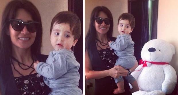 بالصورة: ديانا حداد مع طفل صغير، وما علاقة لاعب كرة القدم ميسي؟