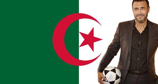 بالصورة: كاظم الساهر يشجّع المنتخب الجزائري في كأس العالم