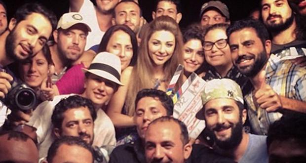 """بالصورة: ميريام فارس المحترفة إنتهت من تصوير """"إتهام"""" قبل يوم واحد من رمضان"""