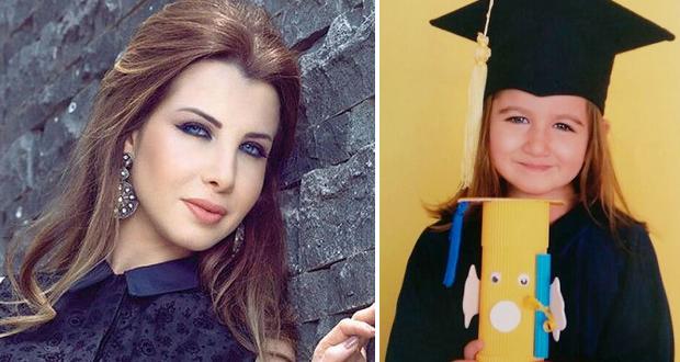 بالصورة: نانسي عجرم إحتفلت بتخرج إبنتها الصغيرة إيلاّ