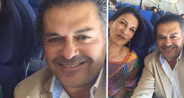بالصورة: راغب علامة يسافر الى عمان وSelfie مميّزة مع الوزيرة مهى الخطيب