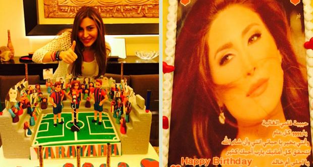بالصور: هكذا إحتفلت يارا بعيد ميلادها، تلقت الهدايا من عشاقها وفريق برشلونة رافقها